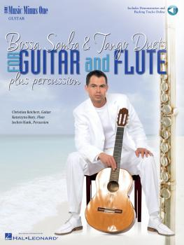 Bossa, Samba & Tango Duets (For Guitar and Flute Plus Percussion) (HL-00400719)