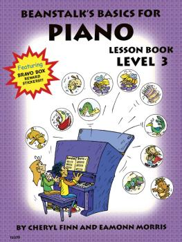 Beanstalk's Basics for Piano (Lesson Book Book 3) (HL-00406419)