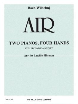 Air (on a G String): 2 Pianos, 4 Hands/Mid-Intermediate Level (HL-00411832)