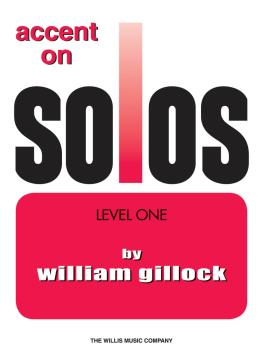 Accent on Solos Book 1 (HL-00416295)