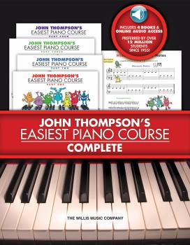 John Thompson's Easiest Piano Course - Complete: 4-Book/4-CD Boxed Set (HL-00416812)