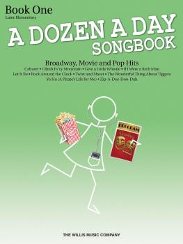 A Dozen a Day Songbook - Book 1: Later Elementary to Early Intermediat (HL-00416860)