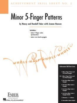 Achievement Skill Sheet No. 2: Minor 5-Finger Patterns (HL-00420023)