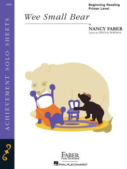 Wee Small Bear (Beginning Reading/Primer Level Piano Solo) (HL-00420059)