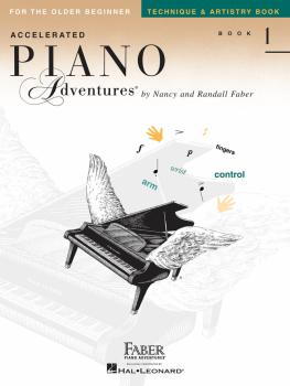 Accelerated Piano Adventures for the Older Beginner: Technique & Artis (HL-00420250)