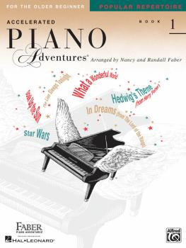 Accelerated Piano Adventures for the Older Beginner: Popular Repertoir (HL-00420252)