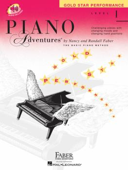 Level 1 - Gold Star Performance Book (Piano Adventures®) (HL-00420256)