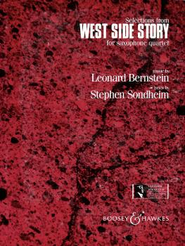 Selections from West Side Story: Saxophone Quartet with opt. Percussio (HL-00450063)