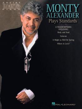 Monty Alexander Plays Standards (HL-00672487)