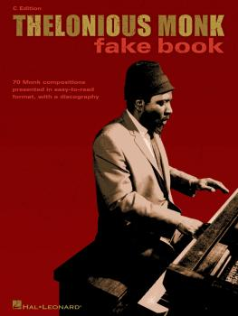 Thelonious Monk Fake Book (C Edition) (HL-00672495)
