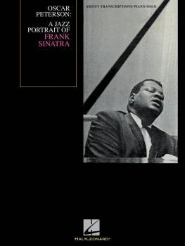Oscar Peterson - A Jazz Portrait of Frank Sinatra: Artist Transcriptio (HL-00672562)