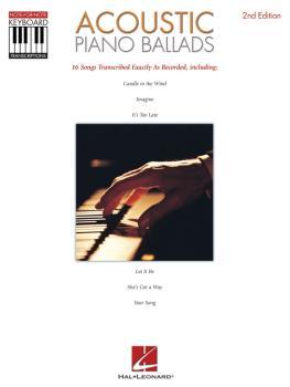Acoustic Piano Ballads (HL-00690351)