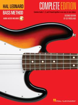Hal Leonard Bass Method - Complete Edition: Books 1, 2 and 3 Bound Tog (HL-00695074)