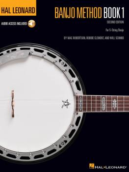Hal Leonard Banjo Method - Book 1 (For 5-String Banjo) (HL-00695101)