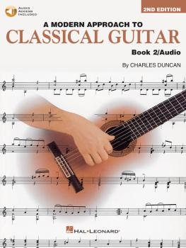 A Modern Approach to Classical Guitar - 2nd Edition: Book 2 - Book wit (HL-00695115)
