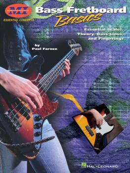 Bass Fretboard Basics: Essential Scales, Theory, Bass Lines & Fingerin (HL-00695201)