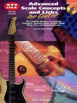 Advanced Scale Concepts and Licks for Guitar (Private Lessons) (HL-00695298)