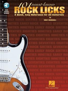 101 Must-Know Rock Licks: A Quick, Easy Reference for All Guitarists (HL-00695432)