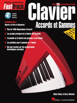 FastTrack Keyboard Chords & Scales - French Edition (HL-00695444)
