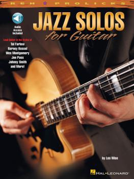 Jazz Solos for Guitar: REH Pro Licks Book/CD Pack (HL-00695447)