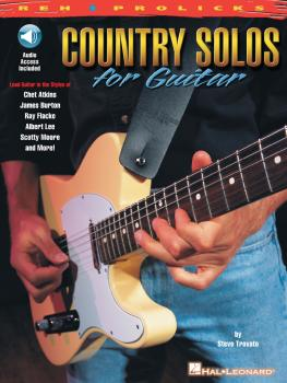 Country Solos for Guitar: REH · Prolicks Series (HL-00695448)