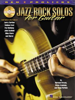 Jazz-Rock Solos for Guitar: Lead Guitar in the Styles of Carlton, Ford (HL-00695449)