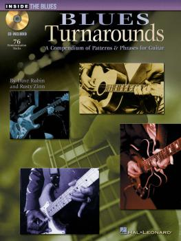 Blues Turnarounds: A Compendium of Patterns & Phrases for Guitar (HL-00695602)