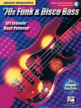 '70s Funk & Disco Bass: 101 Groovin' Bass Patterns (HL-00695614)