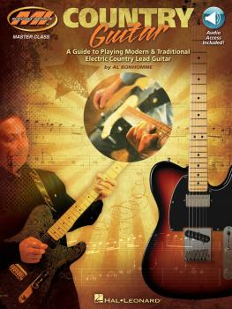 Country Guitar: A Guide to Playing Modern & Traditional Electric Count (HL-00695661)