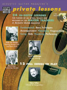 Acoustic Guitar Magazine's Private Lessons: 24 In-Depth Lessons, 12 Fu (HL-00695735)