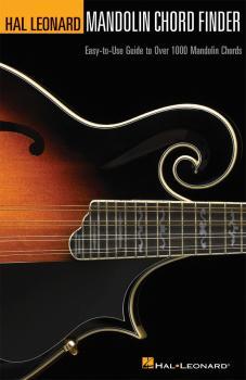 Mandolin Chord Finder: Easy-to-Use Guide to Over 1,000 Mandolin Chords (HL-00695740)