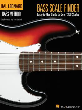 Bass Scale Finder: Easy-to-Use Guide to Over 1,300 Scales 9 inch. x 12 (HL-00695778)