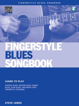 Fingerstyle Blues Songbook: Learn to Play Country Blues, Ragtime Blues (HL-00695793)