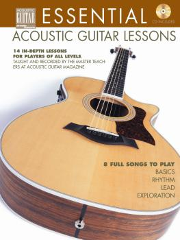 Essential Acoustic Guitar Lessons: 14 In-Depth Lessons for Players of  (HL-00695802)
