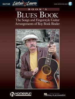 Book's Blues Book: The Songs & Fingerstyle Guitar Arrangements of Roy  (HL-00695808)