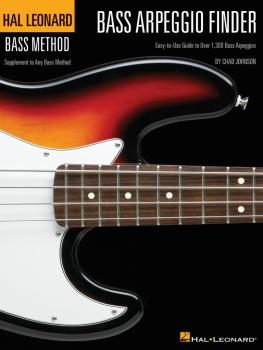 Bass Arpeggio Finder: Easy-to-Use Guide to Over 1,300 Bass Arpeggios H (HL-00695816)