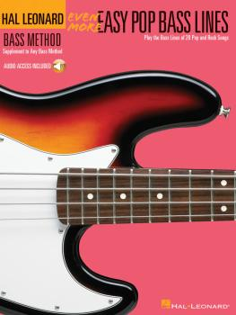 Even More Easy Pop Bass Lines: Supplemental Songbook to Book 3 of the  (HL-00695820)