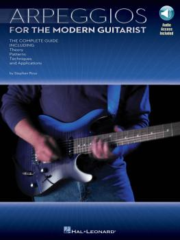 Arpeggios for the Modern Guitarist: The Complete Guide, Including Theo (HL-00695862)