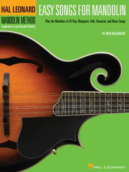 Easy Songs for Mandolin: Supplementary Songbook to the Hal Leonard Man (HL-00695865)