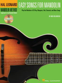 Easy Songs for Mandolin: Supplementary Songbook to the Hal Leonard Man (HL-00695866)