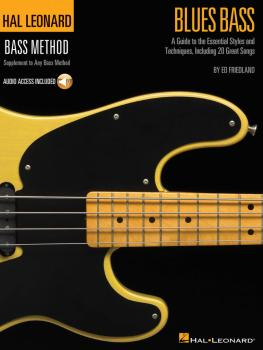 Blues Bass - A Guide to the Essential Styles and Techniques: Hal Leona (HL-00695870)