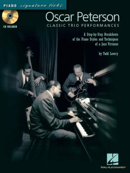 Oscar Peterson - Classic Trio Performances: A Step-by-Step Breakdown o (HL-00695871)
