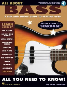 All About Bass: A Fun and Simple Guide to Playing Bass (HL-00695930)