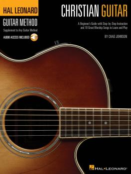 Christian Guitar: A Beginner's Guide with Step-by-Step Instruction and (HL-00695947)