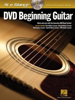 Beginning Guitar (DVD/Book Pack) (HL-00696016)