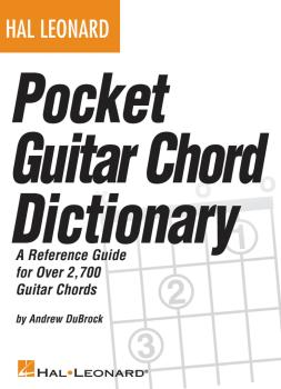 Hal Leonard Pocket Guitar Chord Dictionary (HL-00696036)