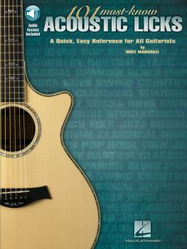 101 Must-Know Acoustic Licks: A Quick, Easy Reference for All Guitaris (HL-00696045)