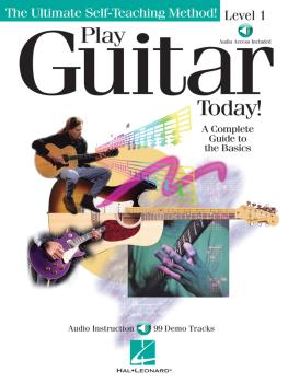 Play Guitar Today! - Level 1: A Complete Guide to the Basics (HL-00696100)
