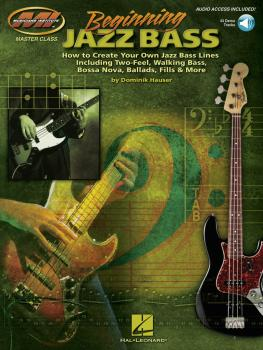 Beginning Jazz Bass: How to Create Jazz Bass Lines Including Two-Feel, (HL-00696191)