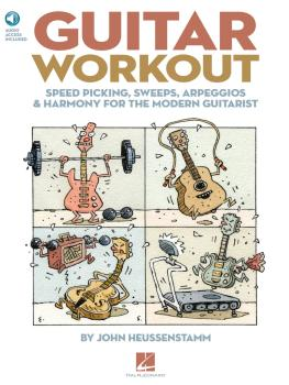 Guitar Workout: Speed Picking, Sweeps, Arpeggios & Harmony for the Mod (HL-00696223)
